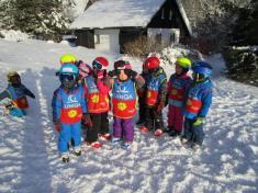 Učíme se lyžovat