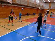Projektový den pohybové hry - volejbal