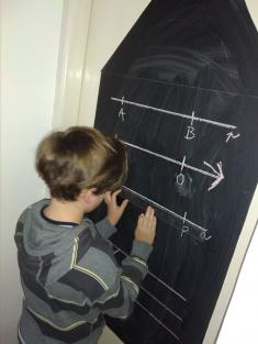 Peťa trénuje geometrii